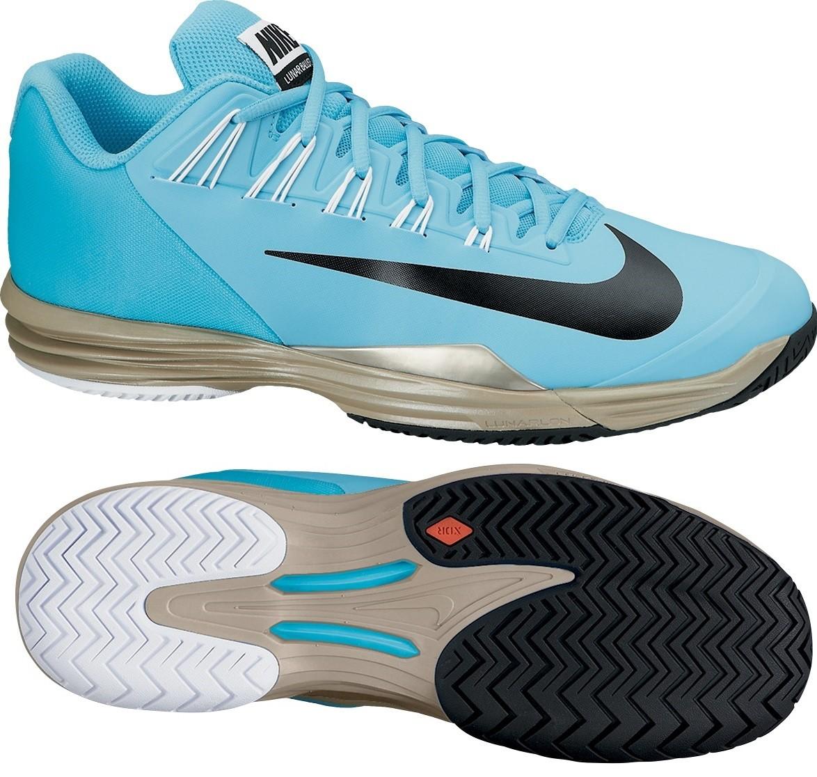 tenisová obuv NIKE LUNAR BALLISTEC modrá 631653-400 a86ae5b7d0e