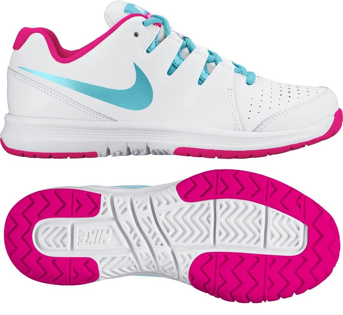 tenisová obuv Nike Vapor Court GS 2016 bílo-růžová 633308-104 a612c45e70