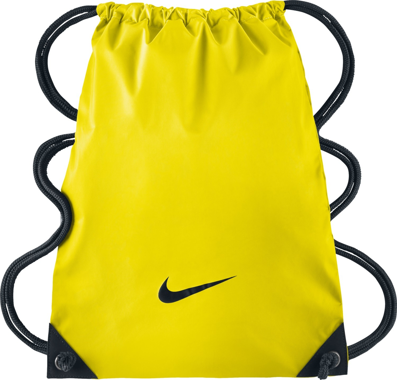 371ddcfe47c Nike GymSack - batůžek - taška na boty BA2735 žlutý