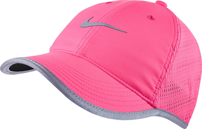 damen tennis kappe nike run knit mesh cap 810138 627 pink. Black Bedroom Furniture Sets. Home Design Ideas