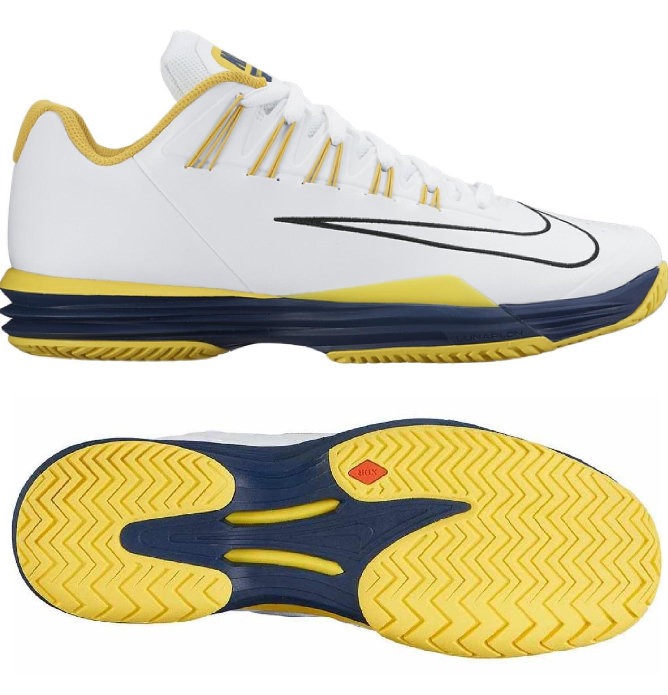 the latest de78b 9a122 Herren Tennisschuhe Nike Lunar Ballistec 1.5 weiss gelb 705285-107