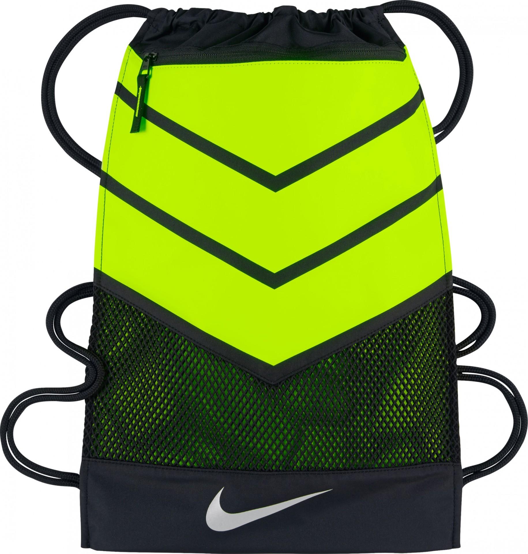 5f2796371cf Nike GymSack Nike Vapor 2.0 - batůžek - neonově žlutý - černý BA5250-010