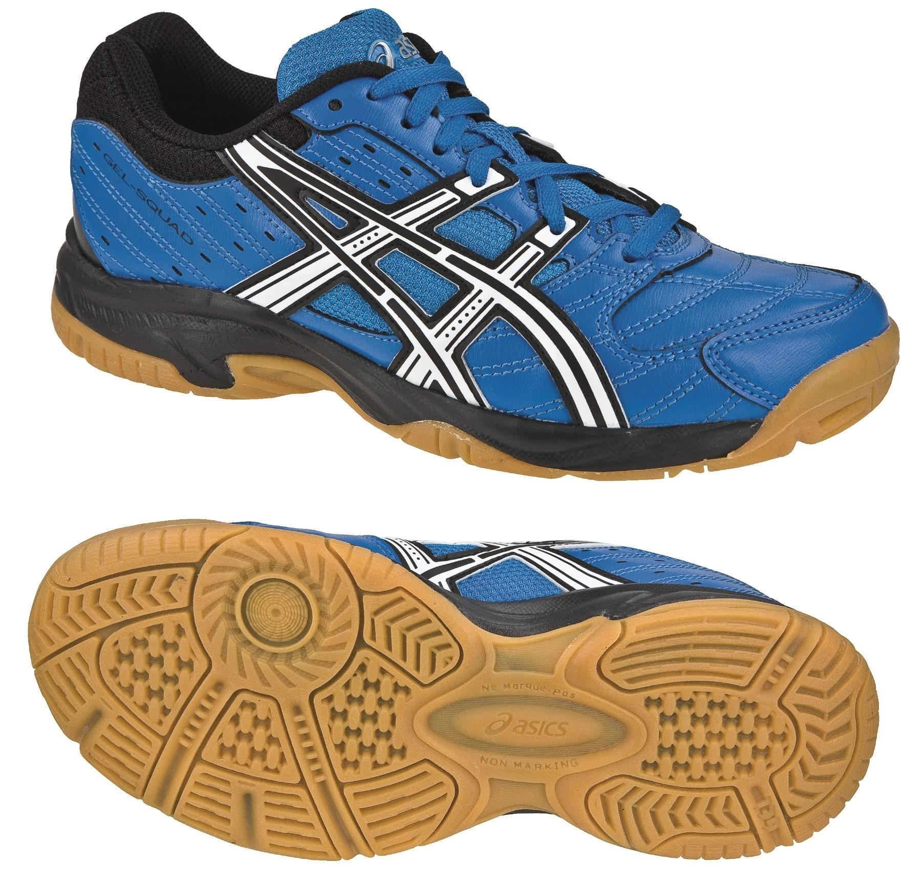 Dětská sálová - halová obuv Asics Gel Squad GS C336Y-4201 modré d90f373b89