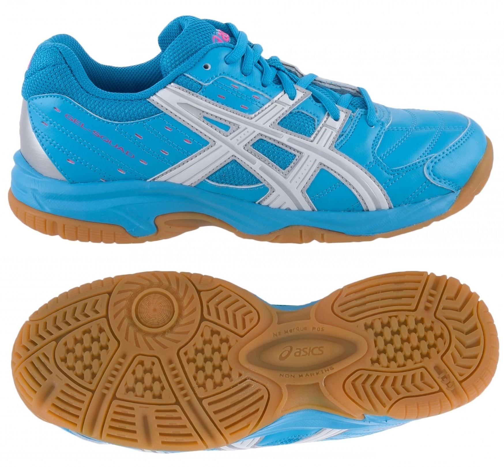 cdf0e80b7e2 Dívčí sálová - halová obuv Asics Gel Squad GS C336Y-4001 modré