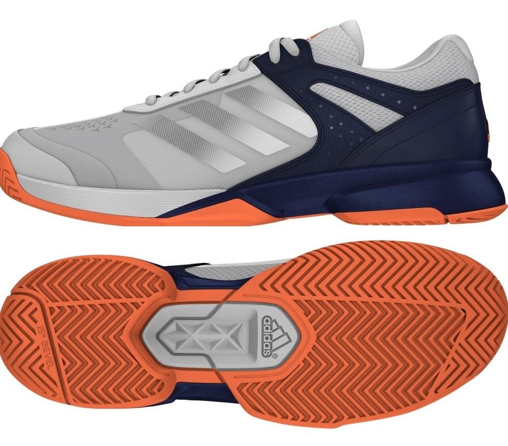 Tenisová obuv Adidas Adizero Court BA 9085 modro-bílá dae6a83ba0