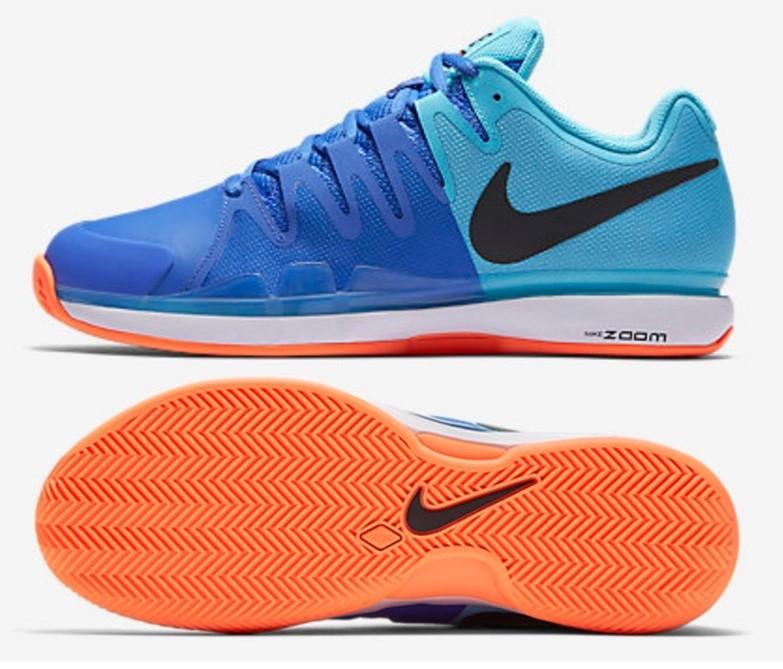 Tenisová obuv Nike Zoom Vapor 9.5 Tour Clay 631457-400 modrá 89e8f0c550