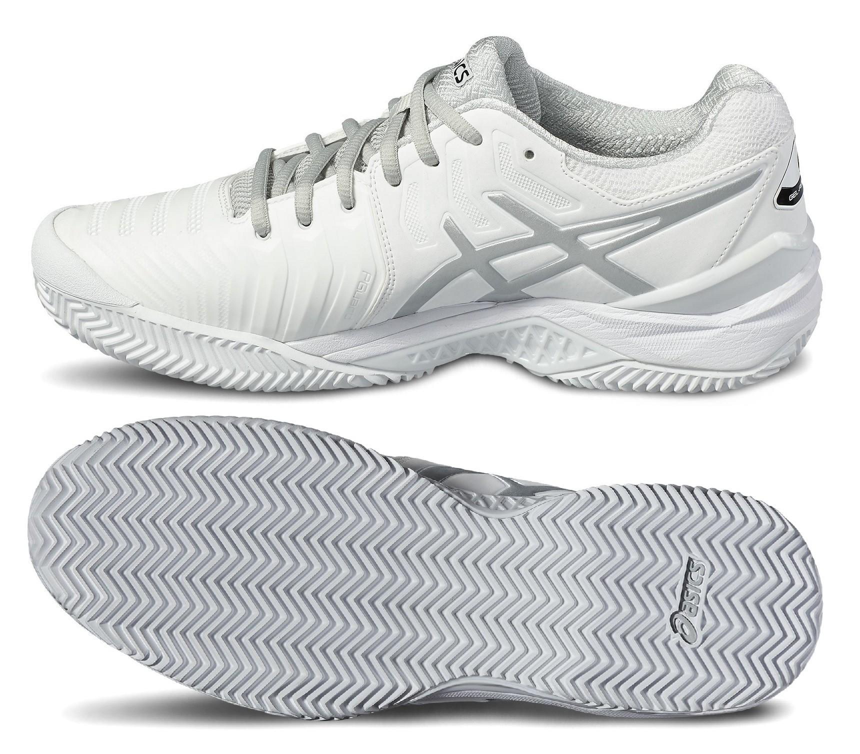 22cea4fdff6 Tenisová obuv Asics Gel Resolution 7 Clay E702Y-0193 bílá