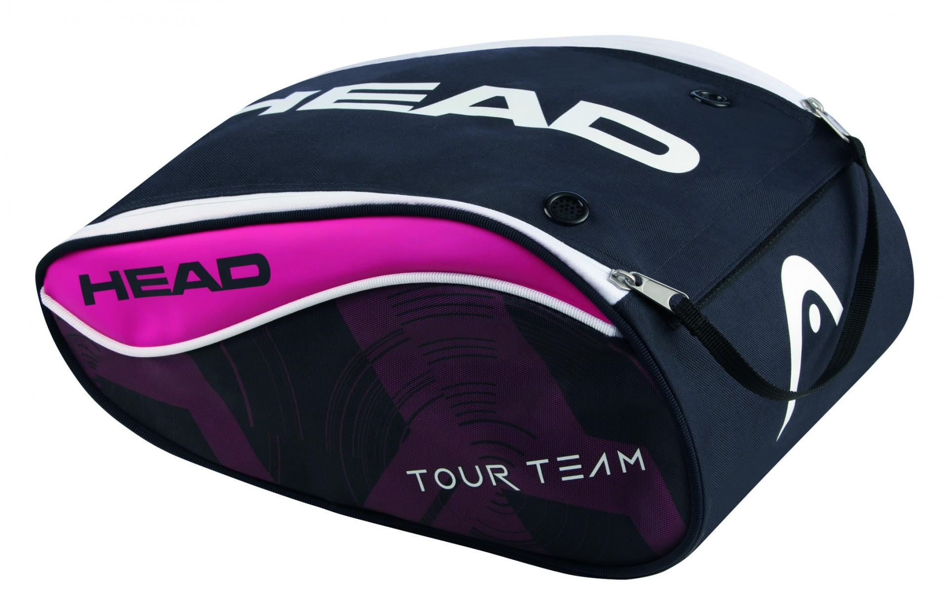 4c66d904291 Taška na boty HEAD Tour Team Shoe bag 2017 růžový