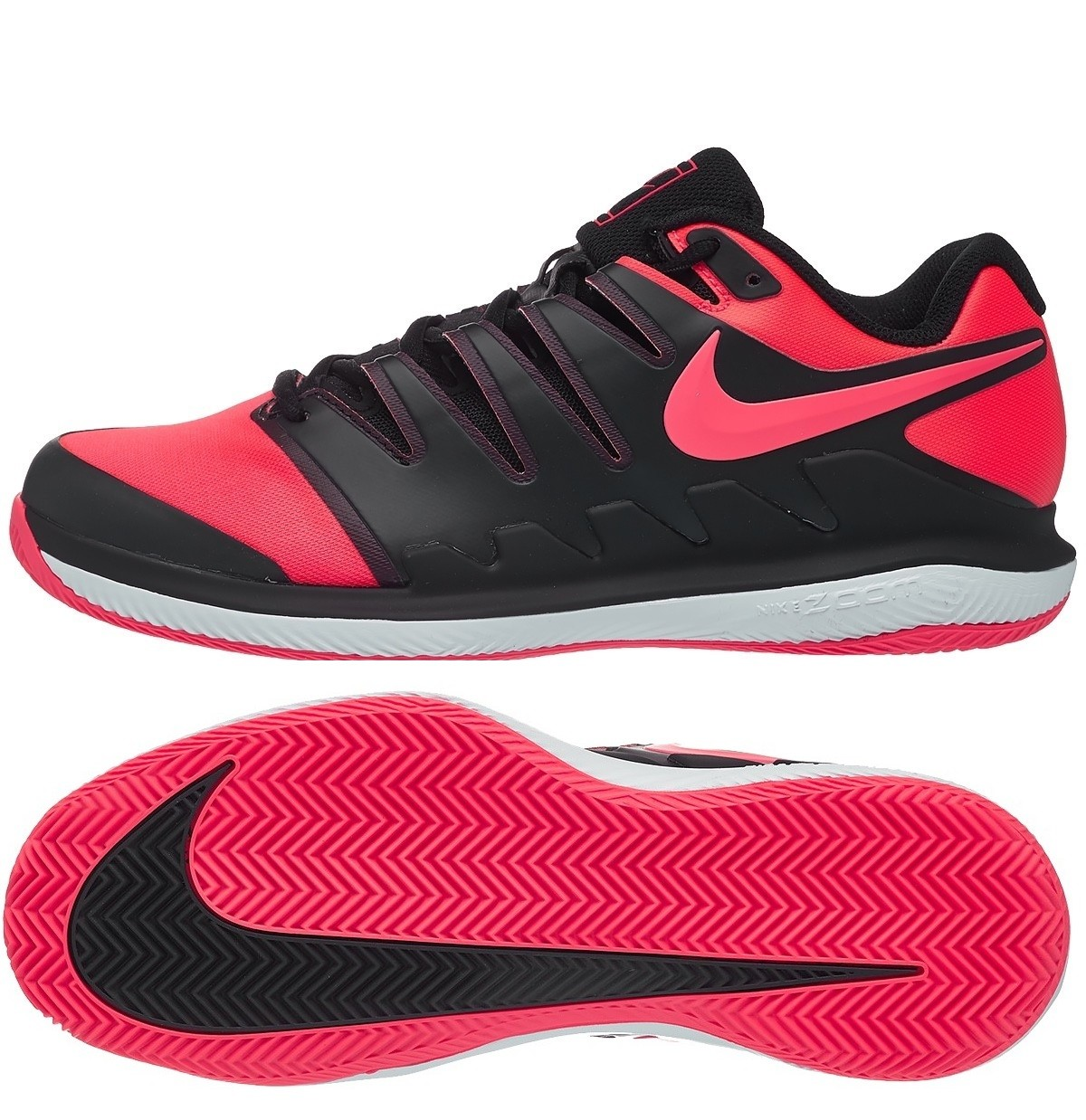 Tenisová obuv Nike Air Zoom Vapor X Clay AA8021-006 black   polar red c23859e3340