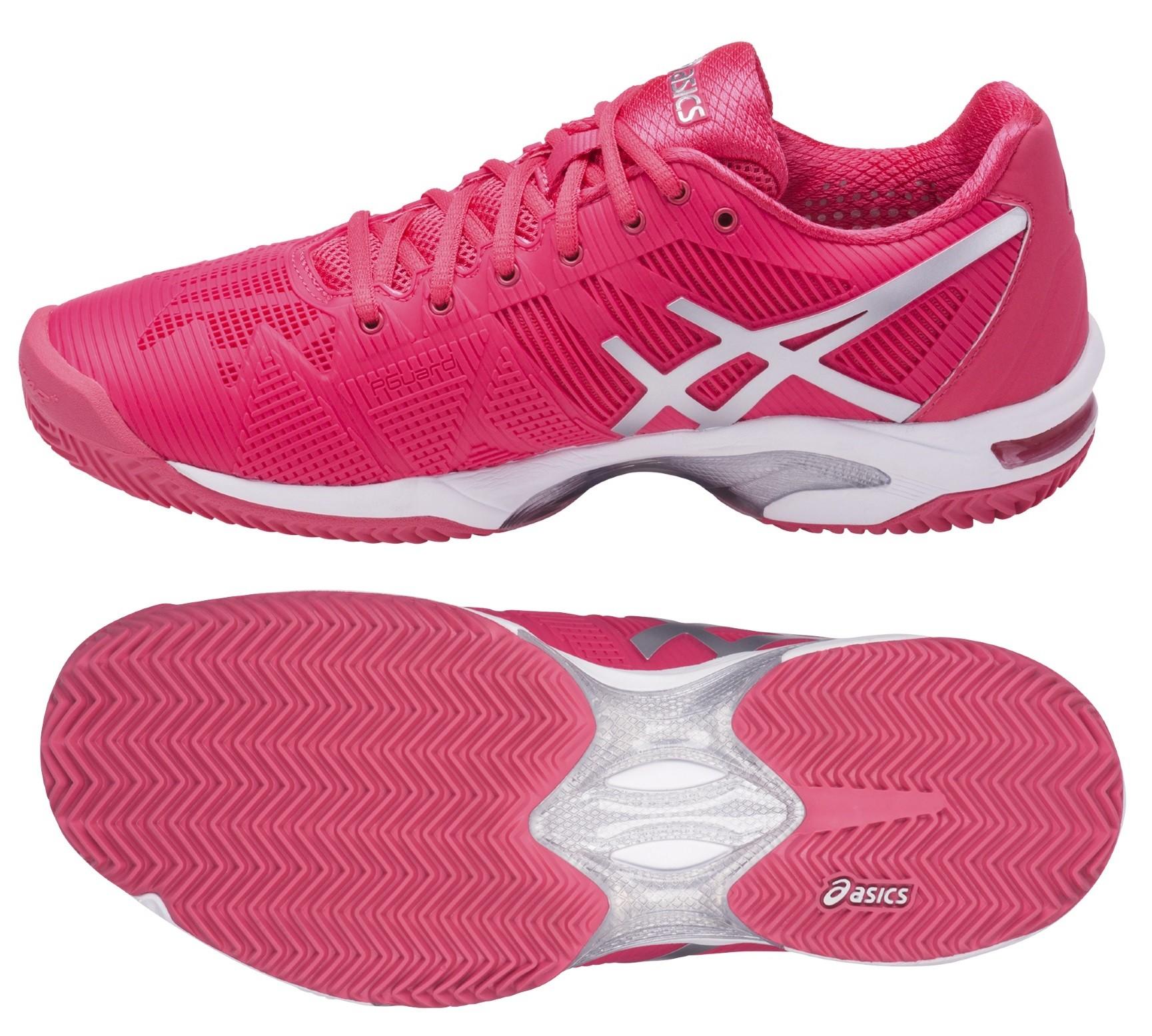 10ac79134503 Dámská tenisová obuv Asics Gel Solution Speed 3 Clay E651N-1993 růžová