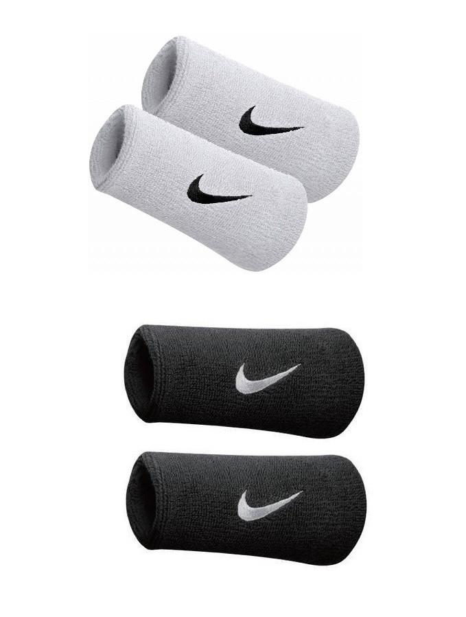Tenisové potítko Nike Swoosh Wristbands Doublewide 19ff0058eb