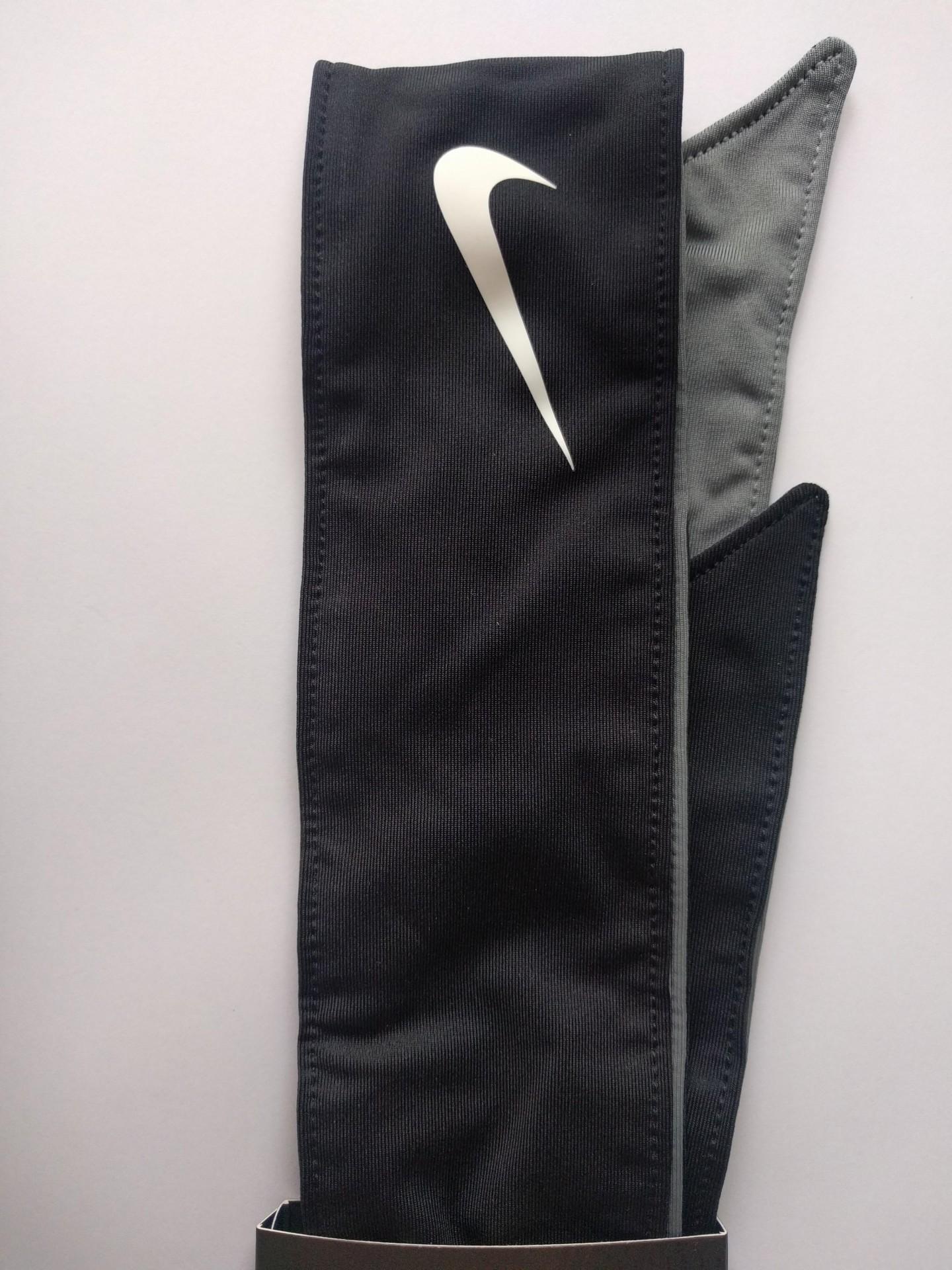 Čelenka Nike Tenis Head Tie Bandeau oboustranná černo-šedá a8b3448b1e