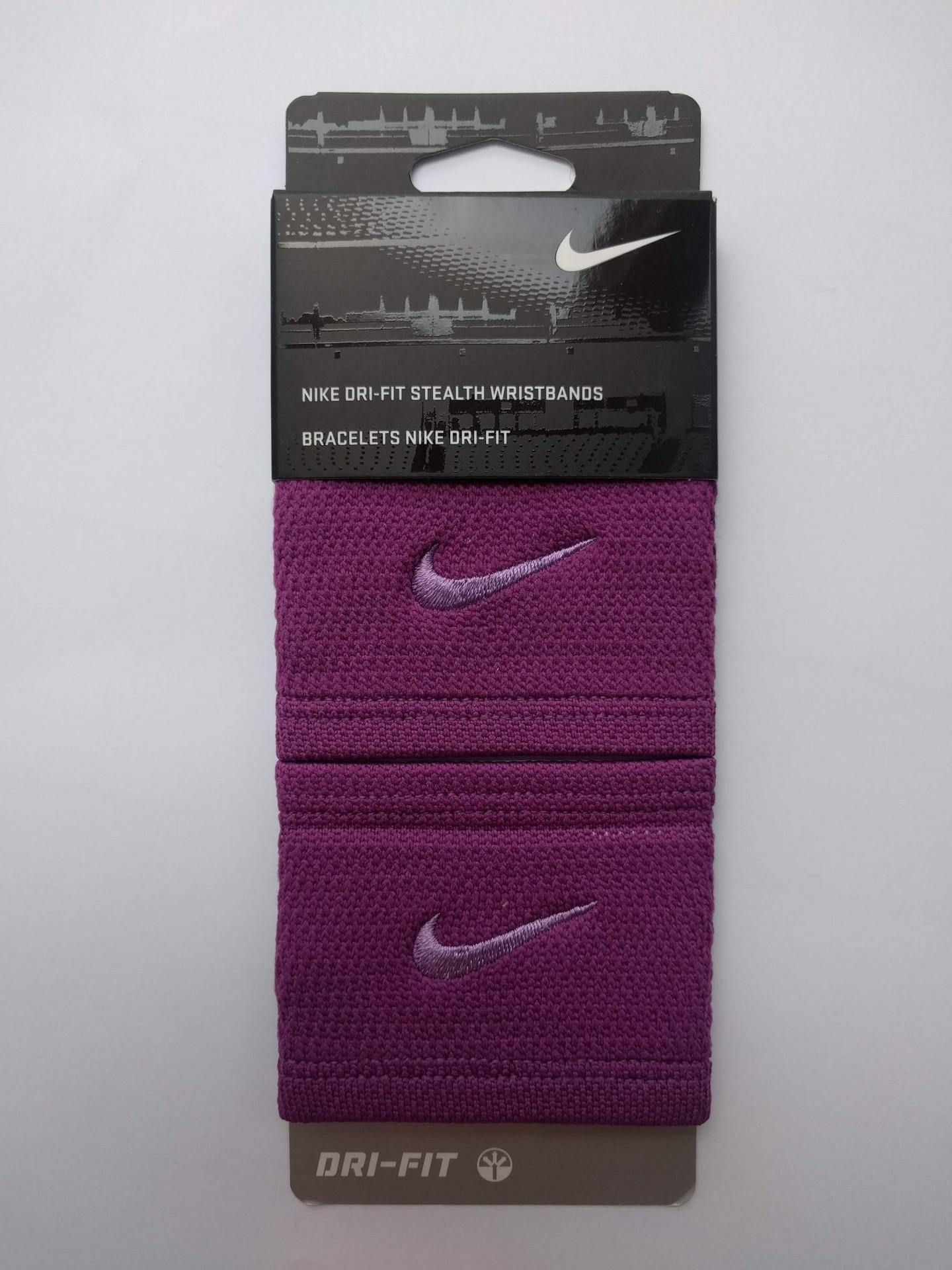 Potítko Nike Dri-Fit Stealth fialová ea039a2339