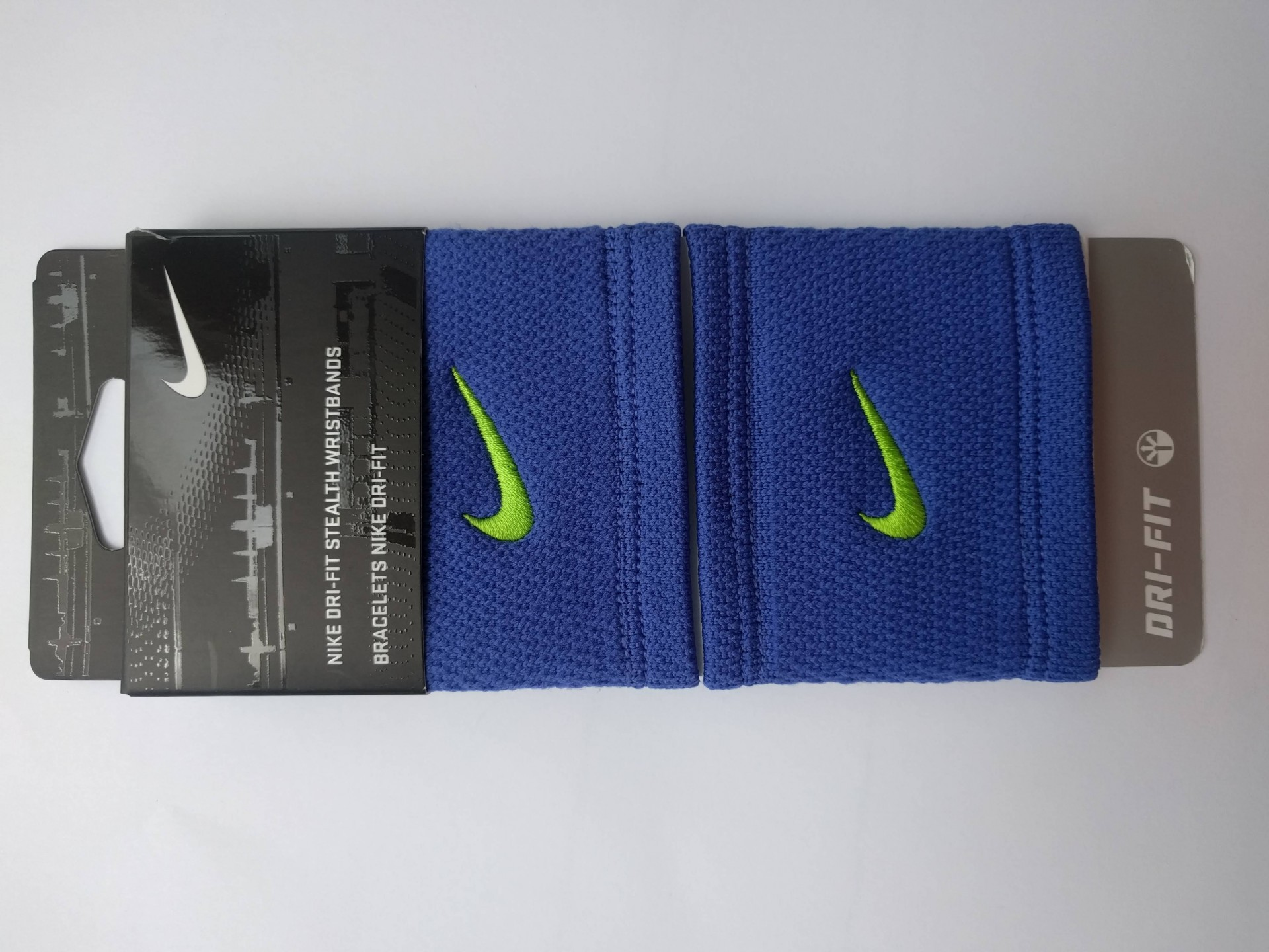 Potítko Nike Dri-Fit Stealth modrá 3c77b611f7