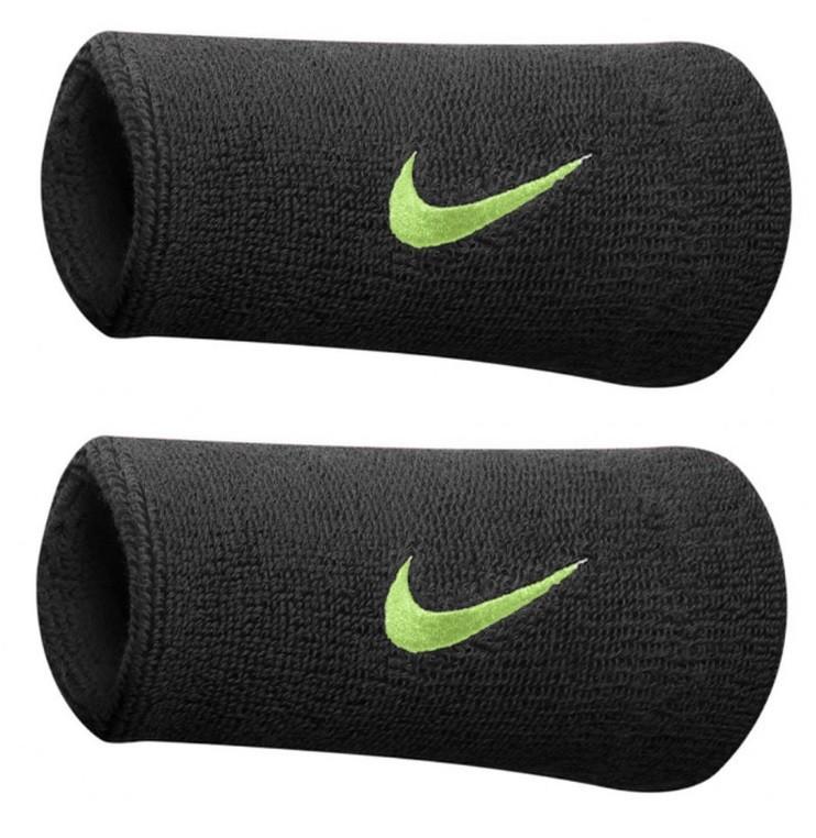 Tenisové potítko Nike potítko černé s neonovým znakem 358e133d1f