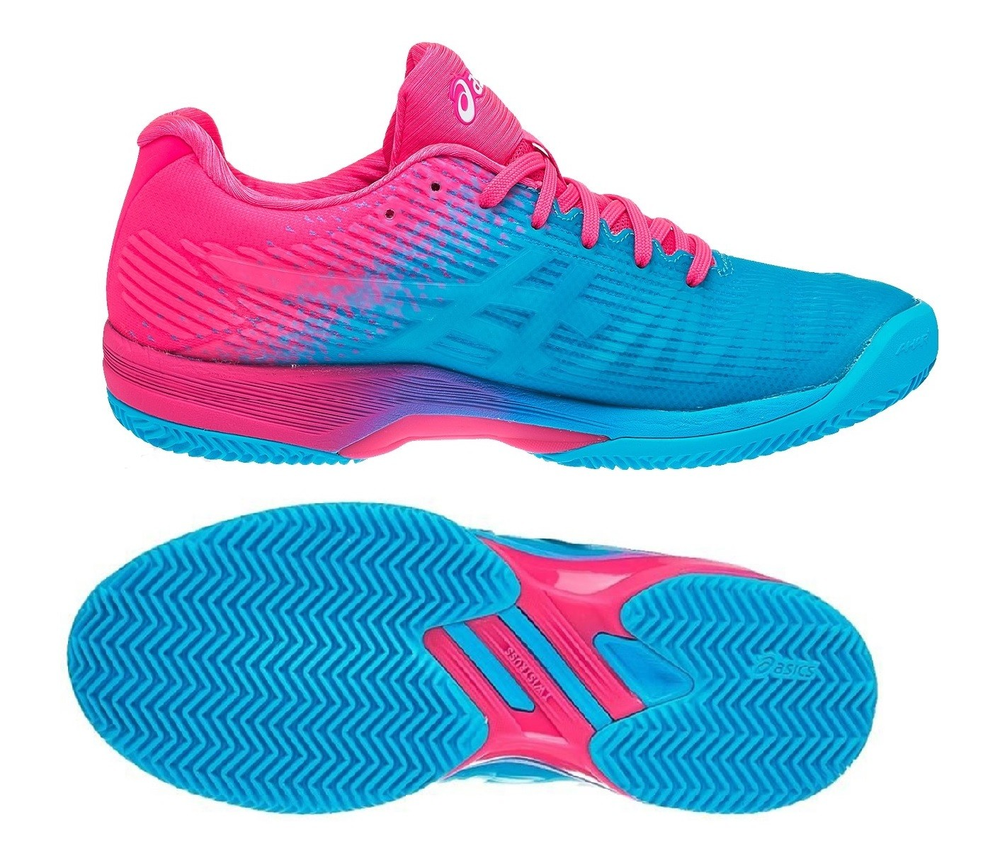 922e18c68ea5 Dámská tenisová obuv Asics Solution Speed FF Clay L.E