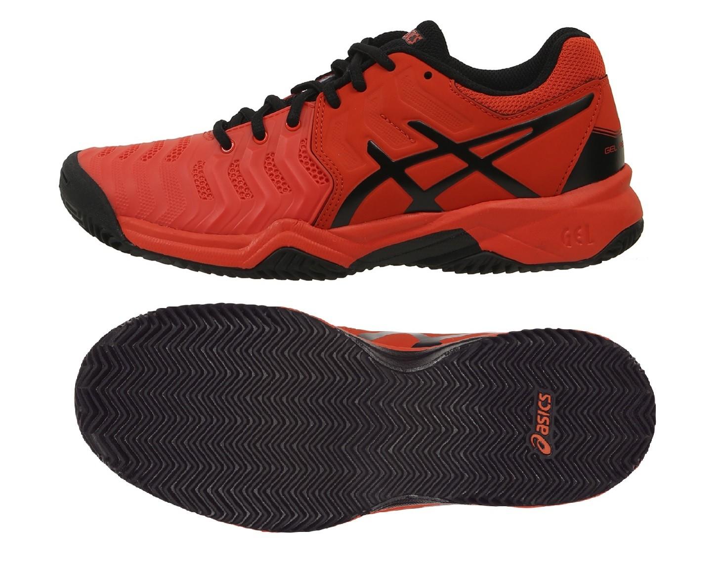 Dětská tenisová obuv Asics Gel Resolution 7 Clay GS C800Y-801 65260a5a69
