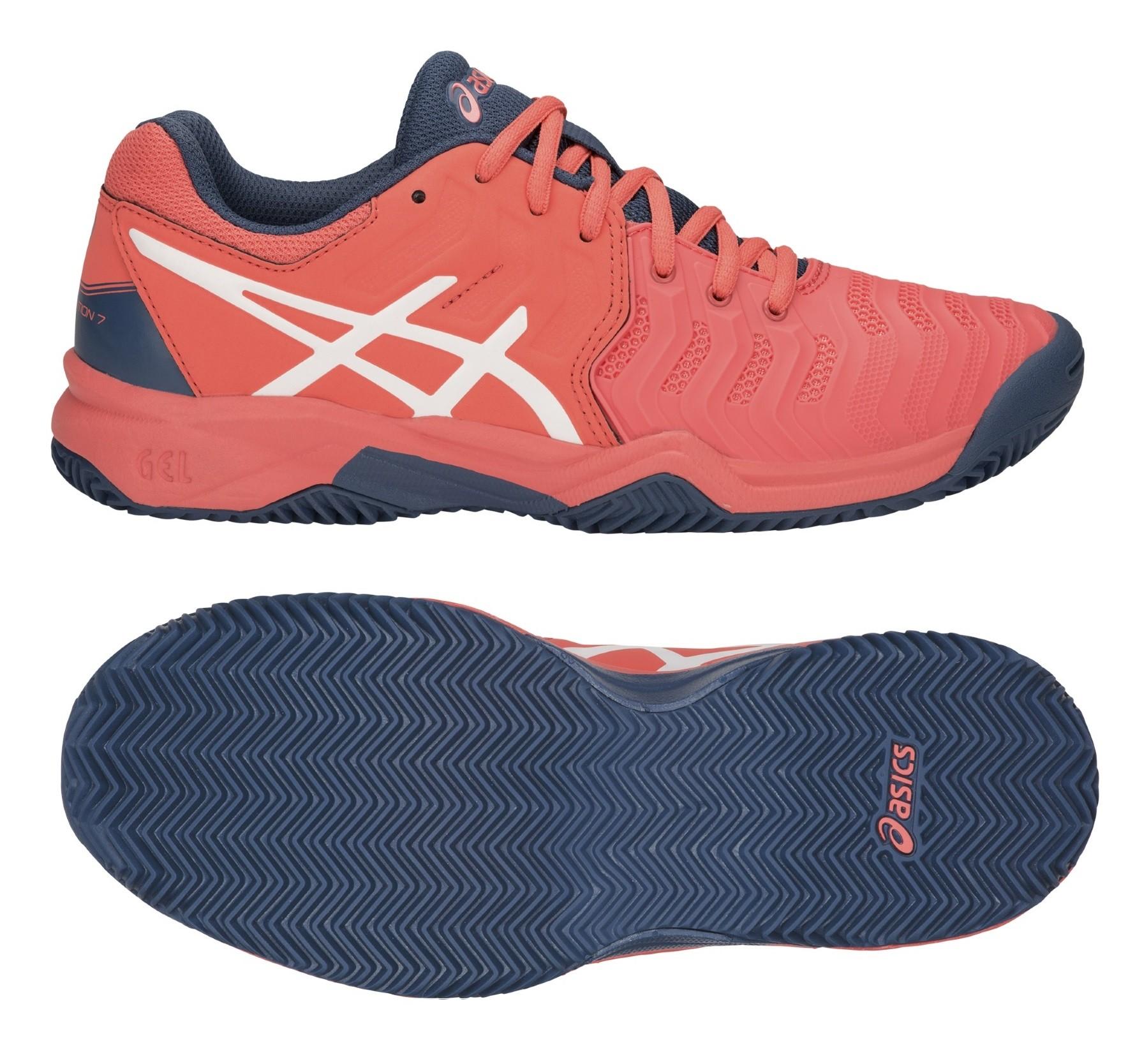 Dětská tenisová obuv Asics Gel Resolution 7 Clay GS C800Y-701 e334181090