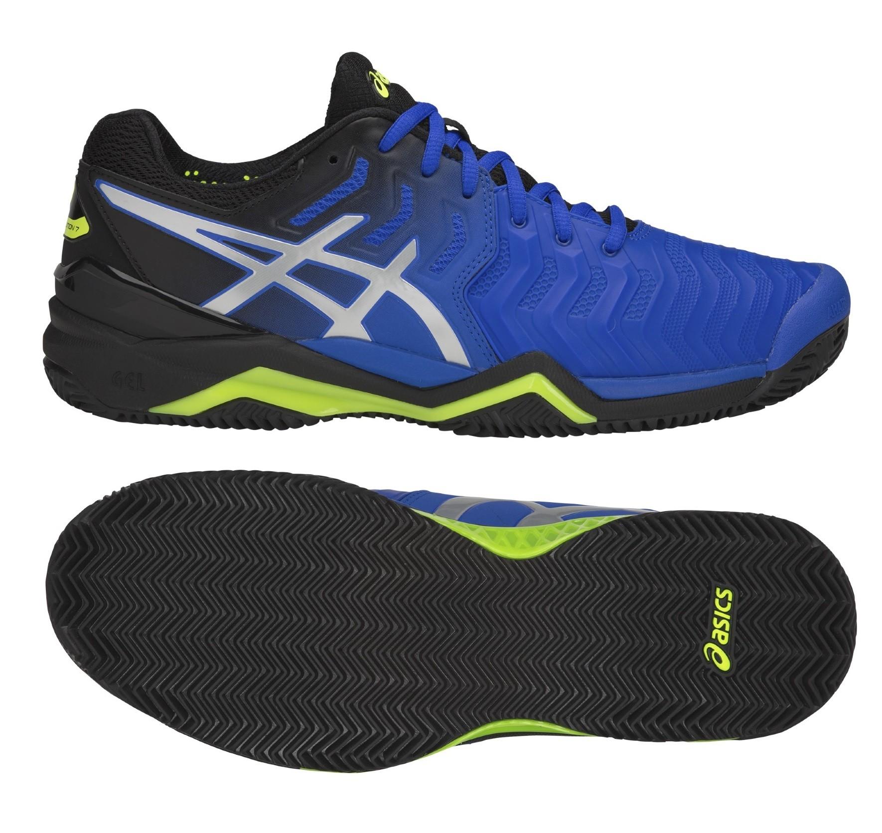 Pánská tenisová obuv Asics Gel Resolution 7 Clay E702Y-407 modré 136b20ce7dc