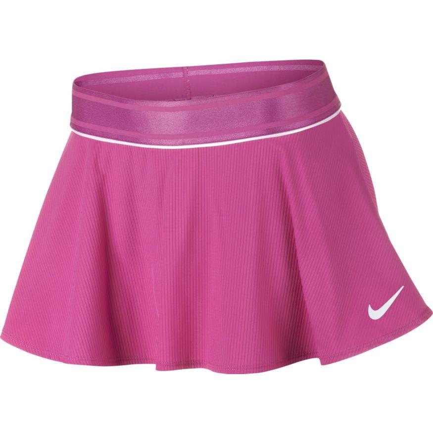 Dívčí tenisová sukně Nike Court DriFit Skirt AR2349-623 růžová 3865652789