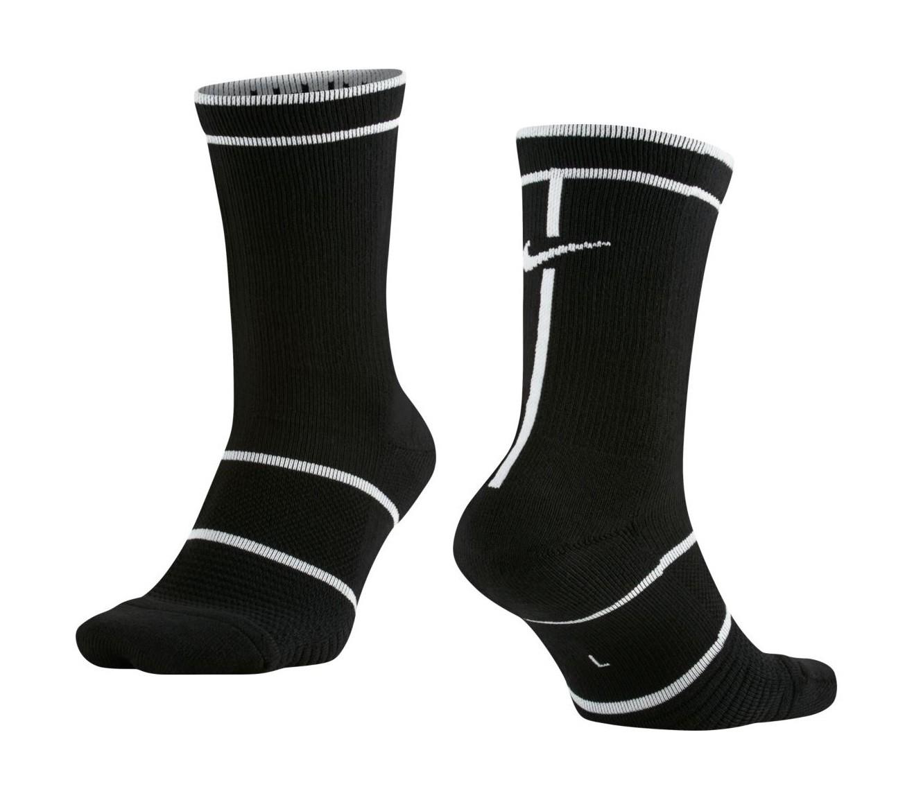 Tenisové ponožky NikeCourt Essentials Crew Tennis Socks SX6913-014 černé 7df7b8f8cd