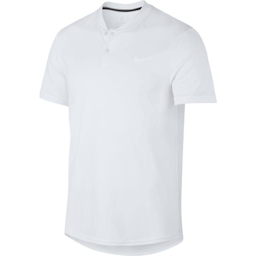 d8f01b3e7966 Pánské tričko NikeCourt Dry Tennis Polo AQ7732-100 bílé