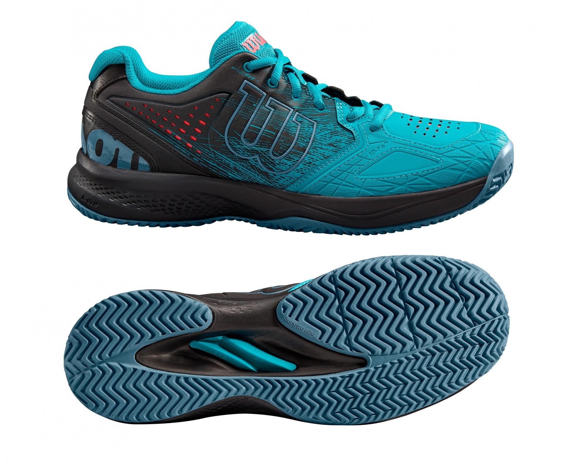 87f463234b16 Tenisová obuv Wilson Kaos Comp 2.0 WRS325120 modrá