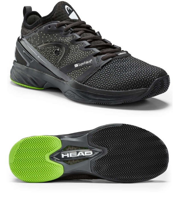 Tennisschuhe Head Sprint SF Clay + Schuhbag Head GRATIS