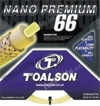 Badmintonový výplet Toalson NANO PREMIUM 66