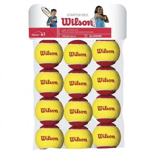 Dětské míče Wilson STARTER RED BALL 12 ks