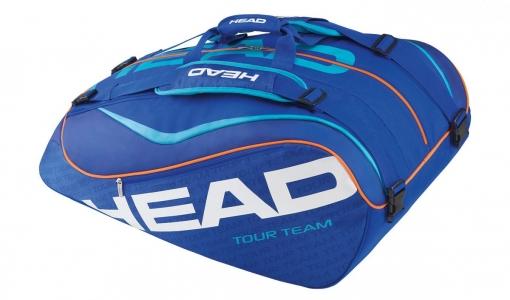 Tenisový bag Head Tour Team 12R Monstercombi modrý