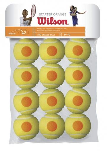 Dětské míče Wilson STARTER ORANGE BALL 12 ks