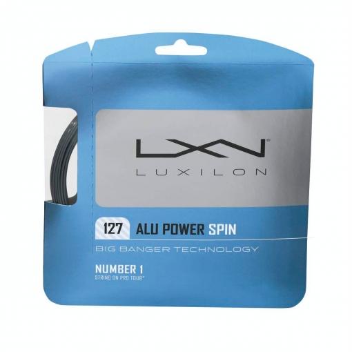 Tennissaite LUXILON ALU POWER Spin 127 - Saitenset