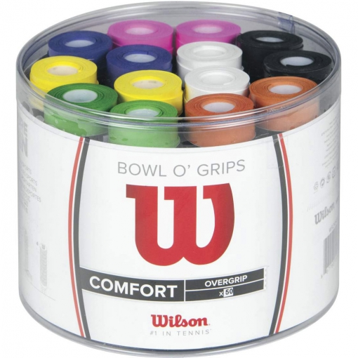 Griffbänder Wilson Overgrip Bowl o grip BOX