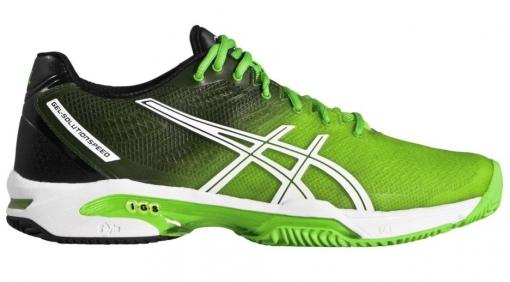 ... tenisová obuv ASICS GEL-SOLUTION SPEED 2 CLAY E401J-8590 zelená ... ba2bf96ee2e
