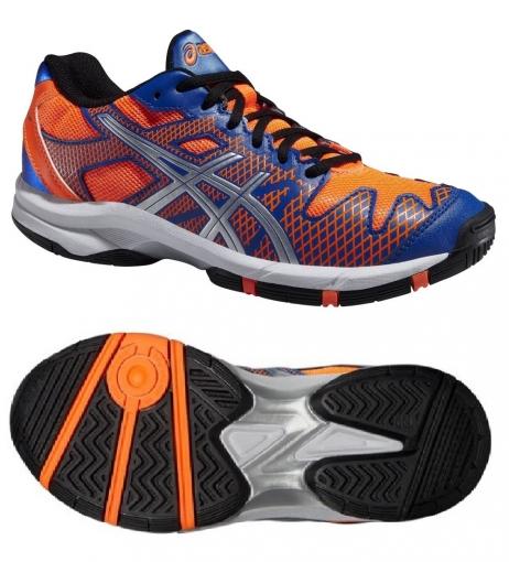 dětská tenisová bota Asics Gel Solution SPEED 2 GS C431Y-4230 modro/oranžové