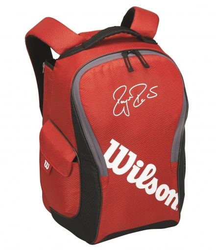 Tenisový batoh Wilson Federer Team III Backpack červený