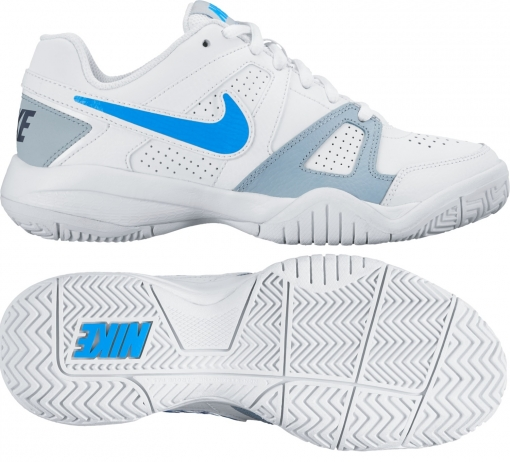Dětská tenisová obuv Nike City Court 7 GS 2016 bílo-modrá 488325-144