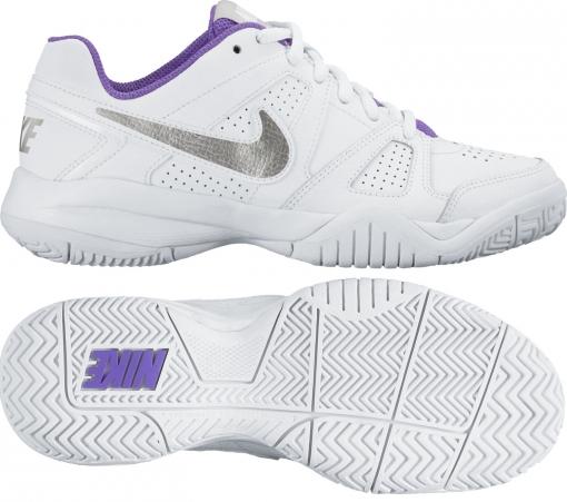 Dětská tenisová obuv Nike City Court 7 GS 2016 bílo-fialová 488327-115