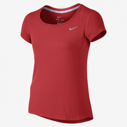 Dívčí tričko Nike Contour 803722-696 červené