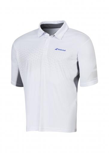 Tenisové tričko Babolat Polo Perf 2MS16021-101 bílé
