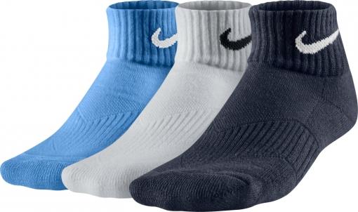 dětské ponožky NIKE Performance Cotton 4722 modré