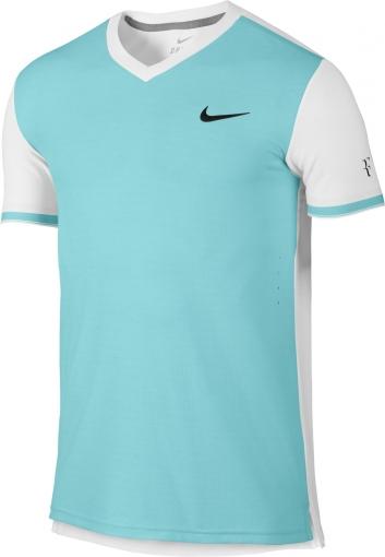 Tenisové tričko Nike Court Premier RF 685255-437 světle modré