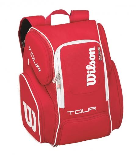 Tenisový batoh Wilson Tour V Backpack Large červený