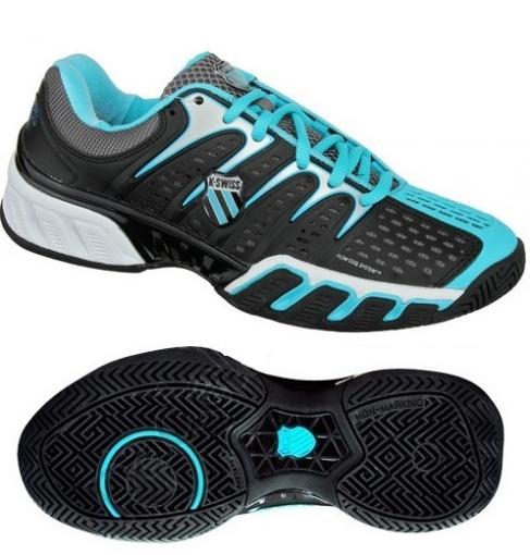 Dámská tenisová obuv K-swiss BIGSHOT II modrá 93025078