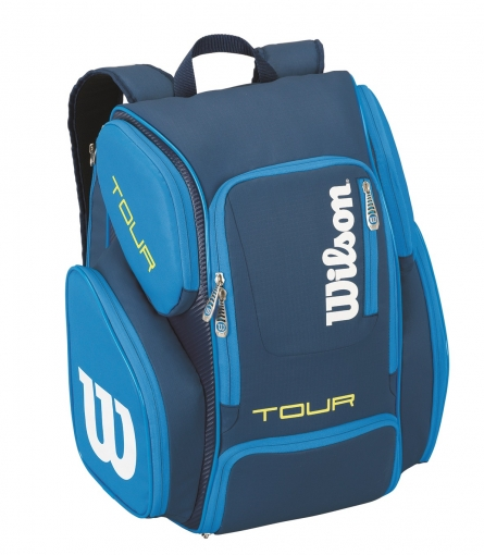 Tenisový batoh Wilson Tour V Backpack Large modrý