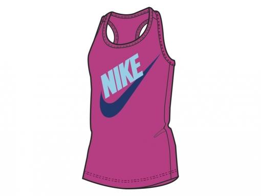 Dívčí tričko / top Nike Tank Were 639030-618 růžový