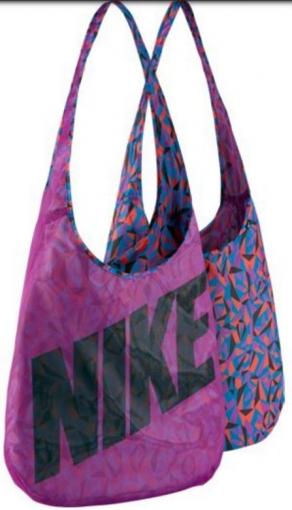 Tenisová taška Nike Graphic Reversible BA4879-556 fialová