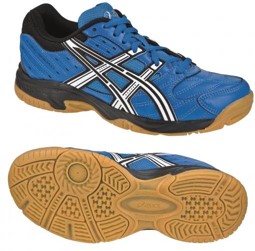 Dětská sálová - halová obuv Asics Gel Squad GS C336Y-4201 modré