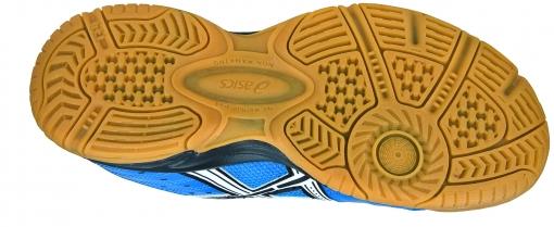 70897919602 ... Dětská sálová - halová obuv Asics Gel Squad GS C336Y-4201 modré